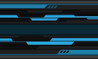 abstrato azul cinza preto cyber design geométrico moderno futurista vetor