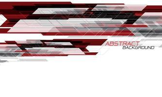 abstrato vermelho preto velocidade geométrica dinâmica design criativo futurista vetor