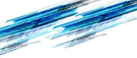 abstrato azul preto geométrico dinâmico criativo no branco futurista vetor