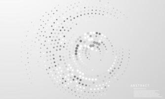 abstrato moderno círculo artes fundo luxuoso branco moderno vetor