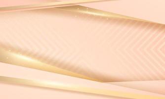 fundo abstrato luxo ouro moderno vetor