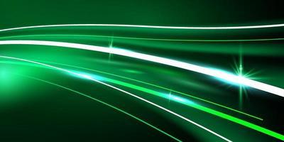 cartaz de linha de velocidade abstrata com dinâmica. rede de tecnologia vetor