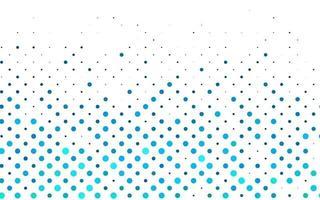 layout de vetor de azul claro com formas de círculo.