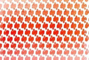 modelo de vetor vermelho claro com linhas dobradas.