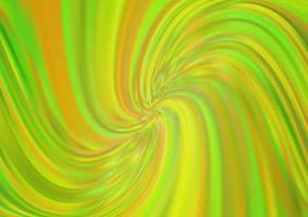 modelo de vetor verde e amarelo claro com linhas dobradas.
