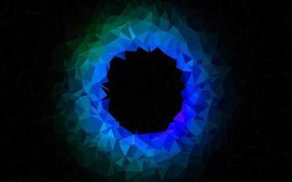 luz multicolor, pano de fundo de mosaico abstrato de vetor de arco-íris.