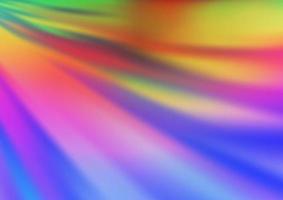 luz multicolorida, vetor de arco-íris turva modelo brilhante.
