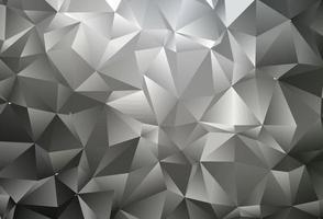 capa de mosaico de triângulo de vetor preto escuro.