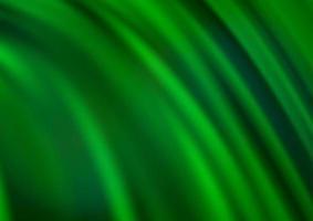 fundo do vetor verde claro com fitas dobradas.