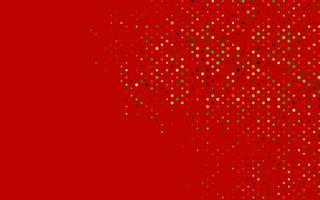 capa de vetor verde e vermelho claro com manchas.