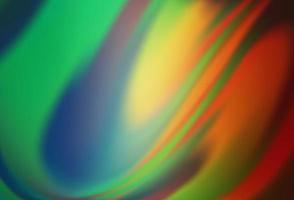 luz verde, vermelho vetor turva fundo abstrato de brilho.