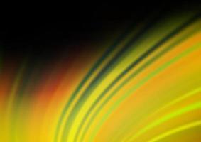 fundo desfocado abstrato do vetor verde escuro e amarelo.