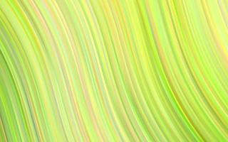 padrão de vetor verde claro com linhas ovais.