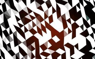 fundo de mosaico abstrato vector vermelho escuro.