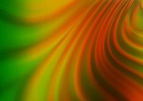 luz verde, vermelho vetor turva modelo abstrato de brilho.