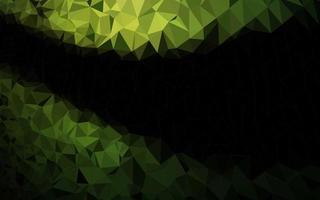 capa de poli baixa vector verde escuro.