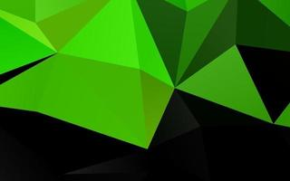 fundo poligonal do vetor verde claro.