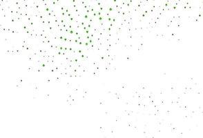 textura vector verde claro com cartas de jogar.