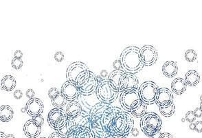 capa de vetor azul claro com manchas.