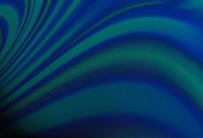 padrão de vetor azul escuro com fitas dobradas.