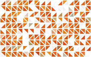 capa sem emenda de vetor laranja clara em estilo poligonal.