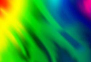 luz multicolorida, padrão de vetor de arco-íris com formas de bolha.