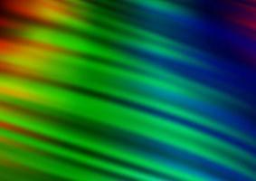 luz multicolor, padrão de bokeh abstrato de vetor de arco-íris.