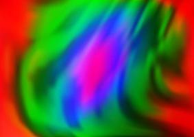 luz multicolorida, fundo do vetor do arco-íris com formas de lâmpada.