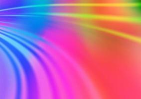 luz multicolorida, modelo de vetor de arco-íris com formas líquidas.