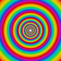 Círculos de arco-íris, vetor