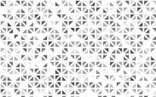 layout sem emenda de luz prata, cinza vetor com linhas, triângulos.