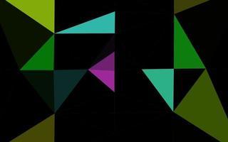 luz multicolor, padrão de mosaico abstrato de vetor de arco-íris.