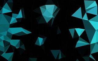 fundo abstrato do polígono do vetor azul claro.