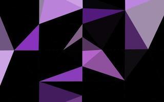 modelo poligonal de vetor roxo claro.
