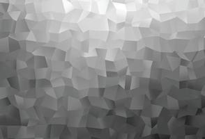layout de baixo poli de vetor cinza claro prata.
