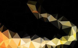 modelo de triângulo embaçado vetor laranja escuro.