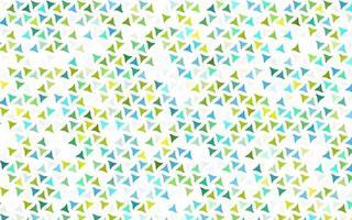 luz azul, amarelo padrão sem emenda de vetor em estilo poligonal.