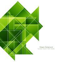 Fundo geométrico poligonal moderno vetor