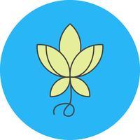 ícone de flor de vetor