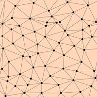 Padrão de treliça sem emenda de vetor. Textura poligonal