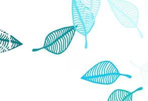 textura pintada à mão de vetor azul e verde claro.