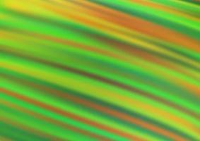luz verde vetor turva modelo abstrato de brilho.
