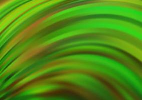 modelo de vetor verde claro com formas de lava.