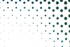 pano de fundo vector azul e verde claro com pontos.