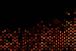 textura vector laranja escuro com estilo retangular.