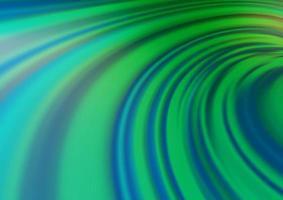 luz azul, verde vetor turva fundo brilhante.