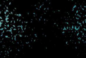 capa de desenho de vetor azul escuro.