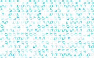 capa de vetor azul claro em estilo poligonal.