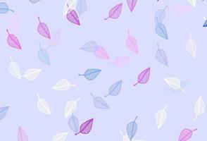padrão de doodle de vetor rosa e azul claro.