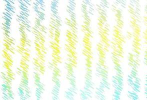 modelo de vetor verde e amarelo claro com varas repetidas.